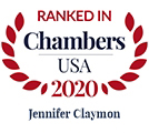 Jennifer Clayman Chamber Badge